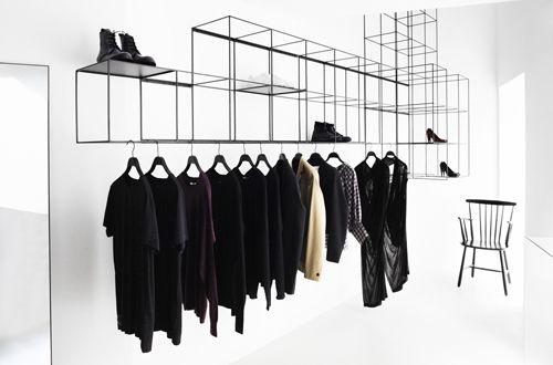 ...Design Milk, Clothing Storage, Clothing Racks, Interiors, Avenue Shoes, Concept Stores, Shoes Repair, Fifth Avenue, Retail