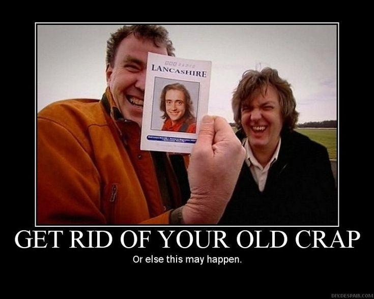What's funnier, the picture of Hammond that Clarkson's holding or the looks on his and James' faces as they laugh at the picture?