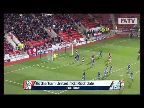 FOOTBALL -  Rotherham United vs Rochdale AFC 1 - 2, FA Cup Second Round Proper 2013-14 highlights - http://lefootball.fr/rotherham-united-vs-rochdale-afc-1-2-fa-cup-second-round-proper-2013-14-highlights/