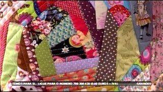 Patchwork: Aproveitamento de retalhos | Cantinho do Video Costura em Roupas