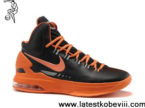 buy online 0a784 36185 ... buy nike zoom kd v 5 black orange basketball shoes sports shoes store  nike  hyperdunk syracuse ...