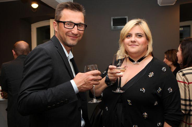 Artur Żelazko (Sarco) and  Malwina Choińska (Deloitte)