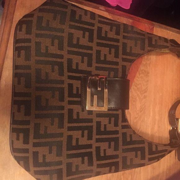 Fendi purse Fendi purse new inside a little wear on shoulder strap great purse FENDI Bags