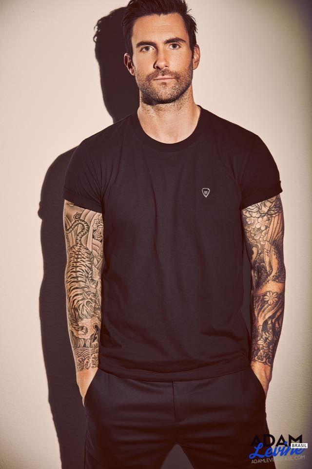 adam levine tattoos - 480×720