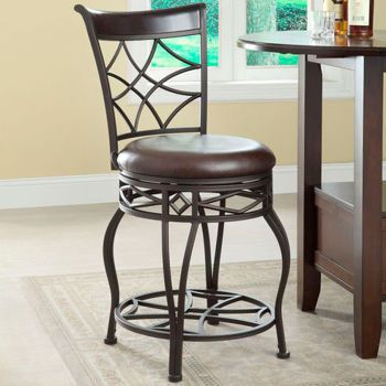 Galena 24 Quot 30 Quot Metal Swivel Stool Bar Stools Pinterest