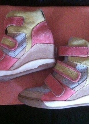 Kaufe meinen Artikel bei #Kleiderkreisel http://www.kleiderkreisel.de/damenschuhe/sonstiges/149857085-ash-sneakers-rosa-pastell-grau-gr-41-ungetragen-gr-405-wildleder-marant