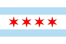Municipal Flag of Chicago.svg