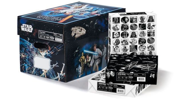 Official Star Wars Photocopy Paper Is the Perfect Collectible for Insane People