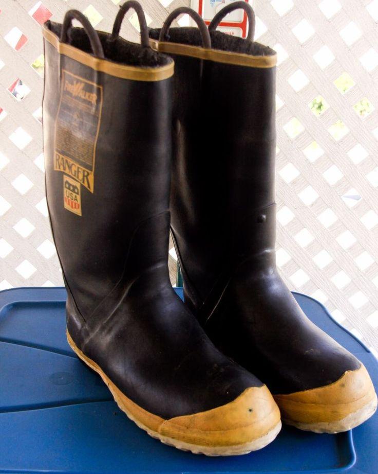 Firefighter Boot Fire Walker Mens Size 11 wide FireWalker Steel Toe Ranger #FireWalkerRanger