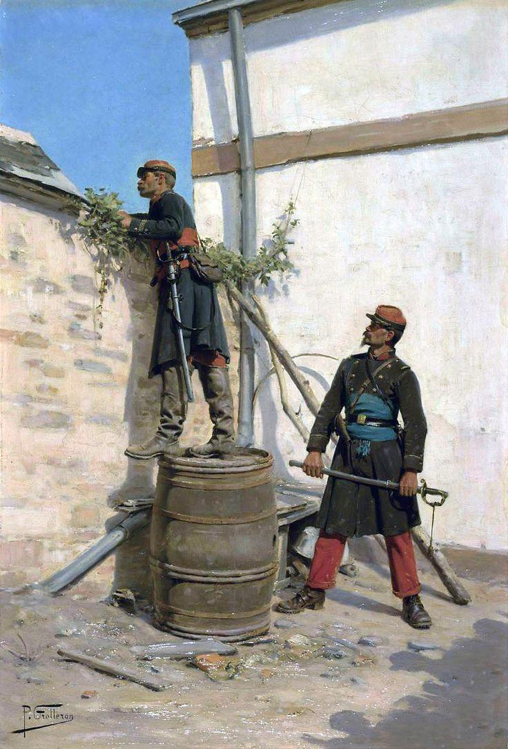 De 144 B 228 Sta War Of 1870 71 Bilderna P 229 Pinterest