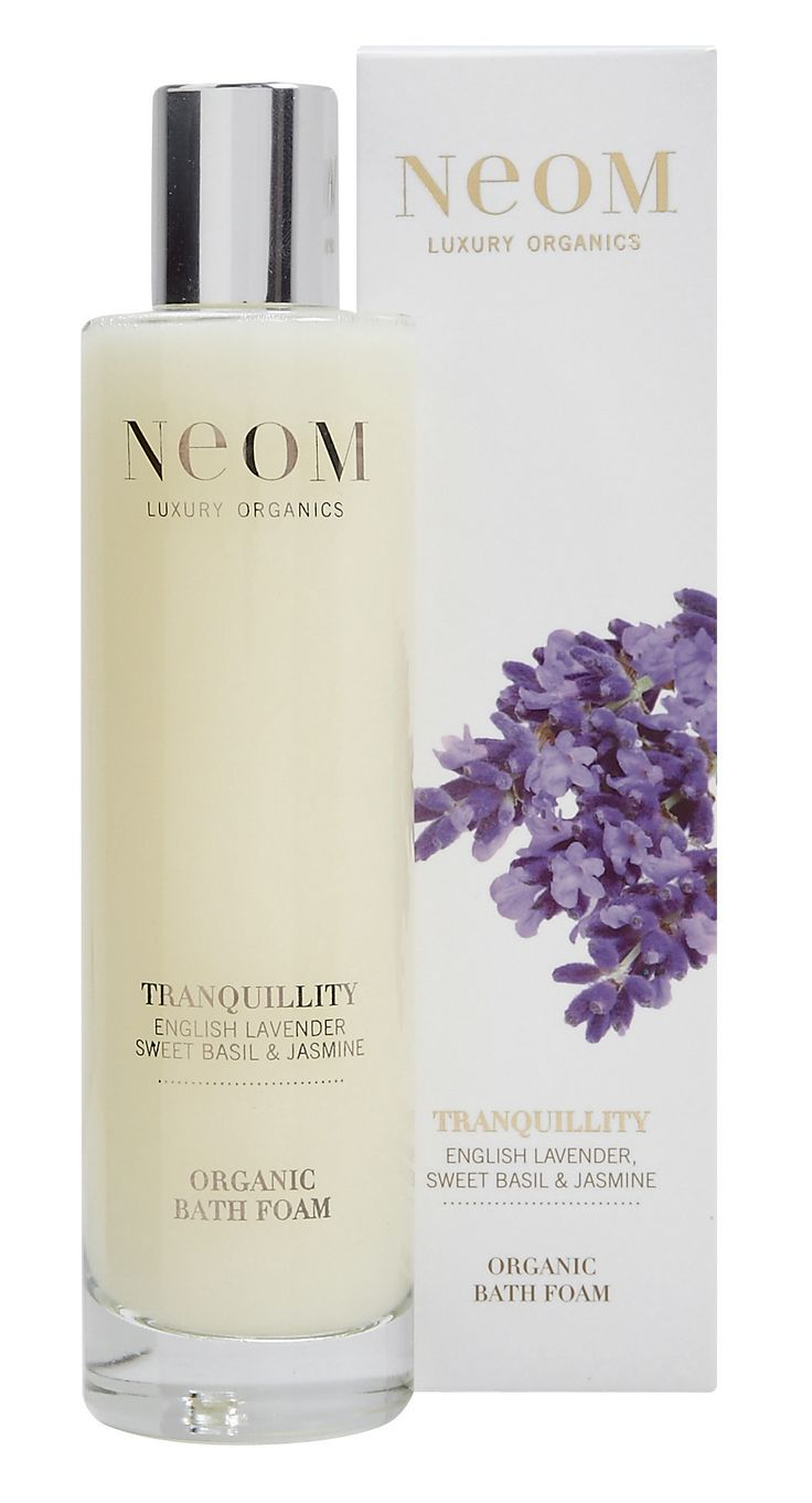 Neom's new Tranquility Bath Foam is divine!