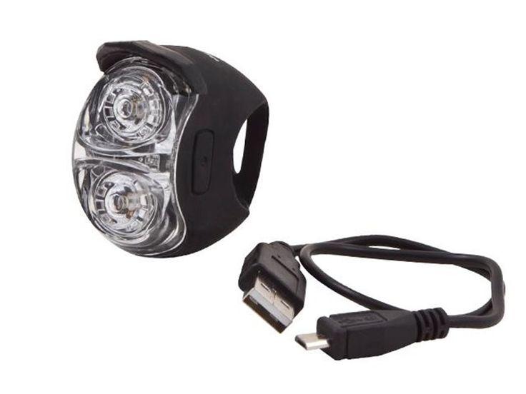 Spanninga Jet Front koplamp USB oplaadbaar  Spanninga Jet Front koplamp USB oplaadbaar  De siliconen JET koplampen en achterlichten zowel krachtig als compact zijn een prima aankoop en een waarborg voor optimale veiligheid. Oplaadbaar met een micro-USB stekker (kabel bijgeleverd) is de JET ook nog eens milieuvriendelijk.  Superhandig  JET lampen kunnen makkelijk op uw fiets bevestigd worden met hun flexibele en compacte montagesysteem. De grote schakelaars zijn makkelijk te bedienen (zelfs…