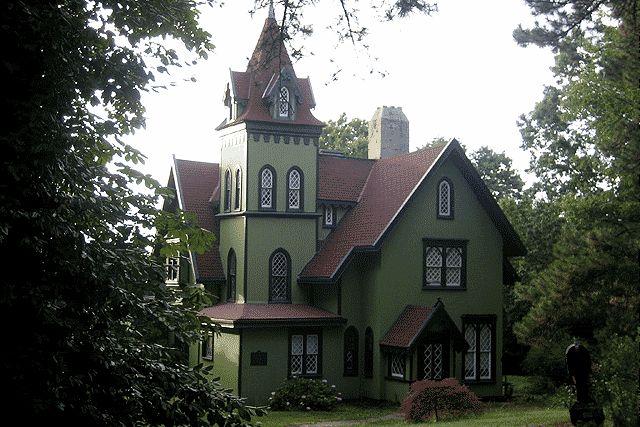 Дом в стиле Американская готика