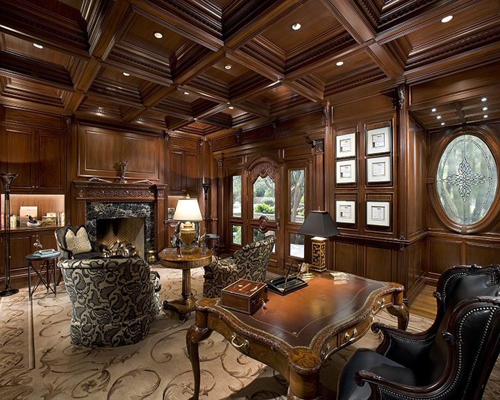 Interior   Cal Christiansen Company Arizona s Top Custom Home Builder. 351 best images about Office furniture on Pinterest