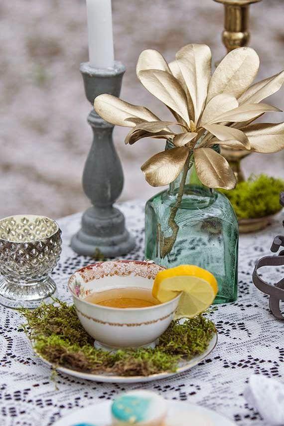 Wedding Inspiration: Винтажная чайная вечеринка от Laura Danielle Photography