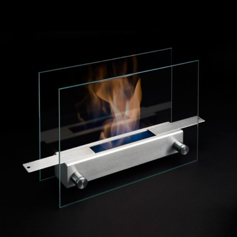 Excited for biofuel tabletop fireplaces. Could put this in my dining room for fun?