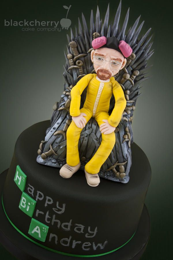 Game of Thrones Meets Breaking Bad - Cake by Little Cherry