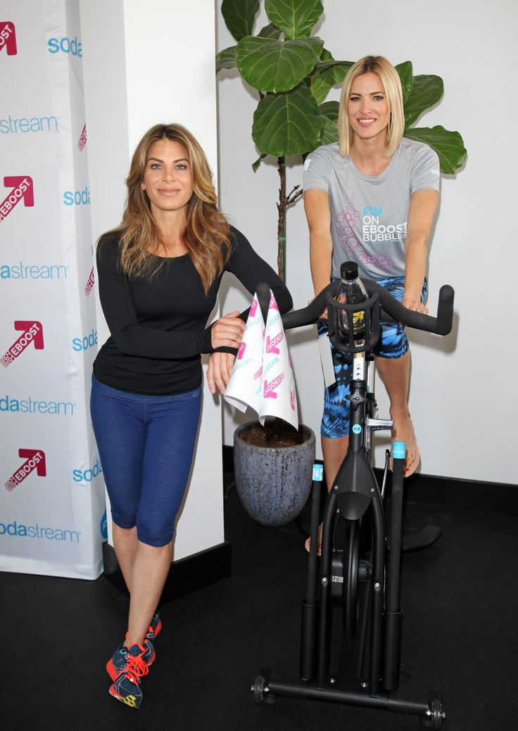 The exclusive launch of EBOOST for SodaStream with Jillian Michaels at Flywheel L.A.
