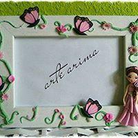 marco fotos decorado, marco decorado, arcilla polimerica, polymer clay, hecho a mano, handmade, friki, fimo, premo, sculpley