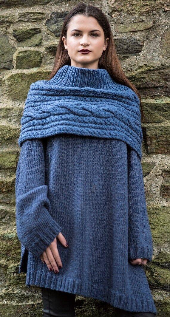 Gilda Shrug & Celesta Sweater HANIA by Anya Cole Fall 2016