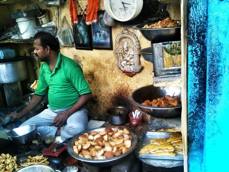 Street Food merchant  #Delhi, India By zsombor nagy