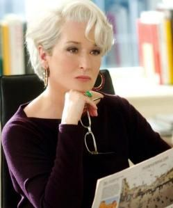 Merly Streep como Miranda Presly - The Devil Wears Prada.2006