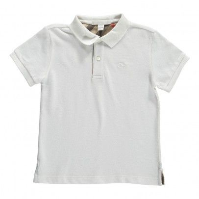 Burberry Palmer Classic Polo Shirt `12 months,18 months,2 Fabrics : Cotton Pique * Details : Polo neck, Short sleeves, Button tab, Embroidery * Composition : 100% Cotton http://www.MightGet.com/january-2017-13/burberry-palmer-classic-polo-shirt-12-months-18-months-2.asp
