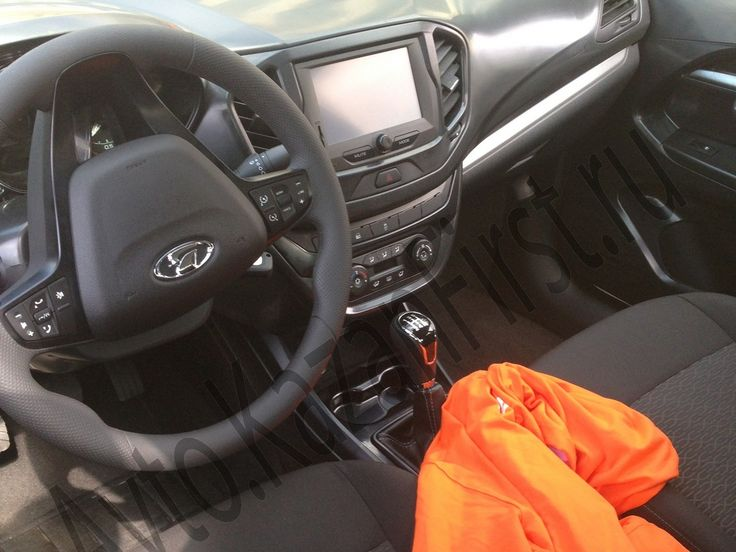 Top-end #Lada #Vesta with touchscreen display spotted – Spied -