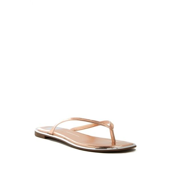 7d5c7cecb809 DV Footwear Dawn Thong Sandal ( 25) ❤ liked on Polyvore featuring shoes