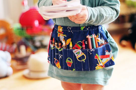 Such a great idea for an older sibling gift when a new baby comes along! It looks simple and would be a great way to use an existing fabric stash.