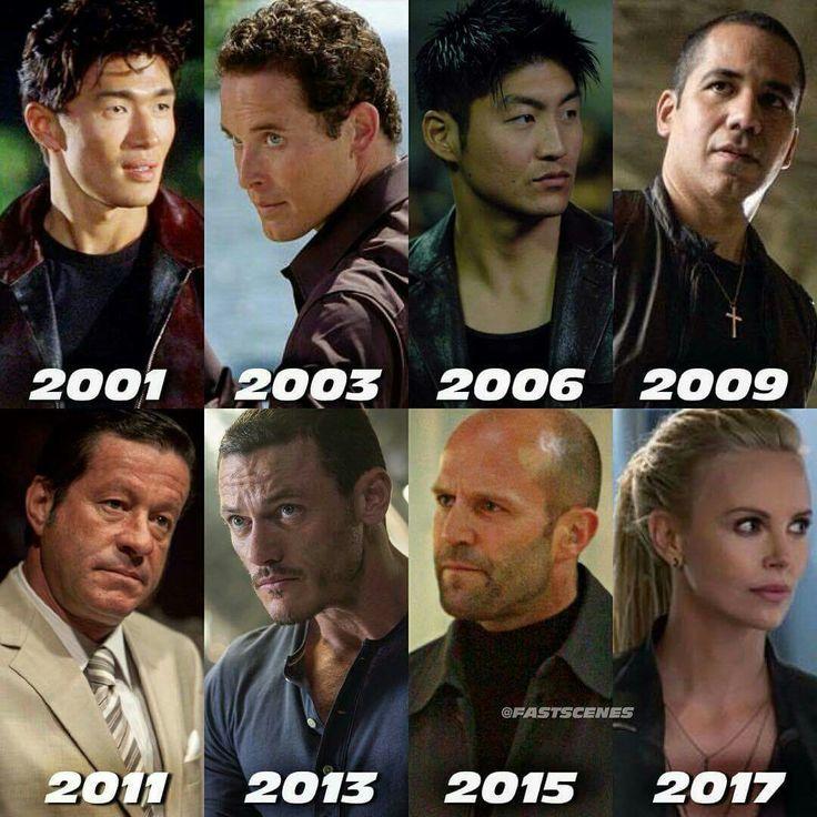 Fast & The Furious Villain from 2001-2017 Todos los villanos de las 8 entregas de Rapidos y Furiosos