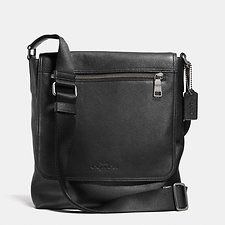 Show details for Sullivan Small Messenger In Pebble Leather