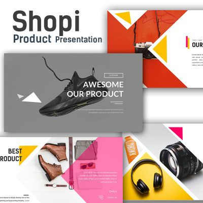 shopi premium shop presentation powerpoint template themes themes