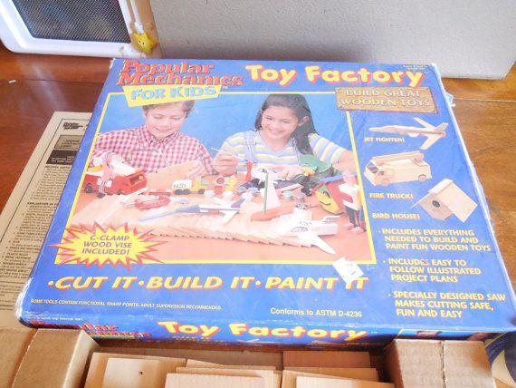 Toy Factory Popular Mechanics for KidsCraft Kits for