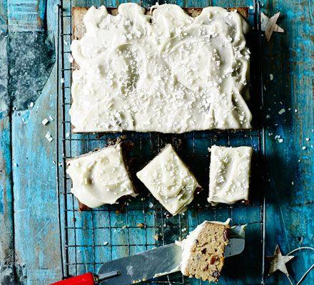 Nadiya bake off white chocolate Christmas tray bake (Lynsey's)