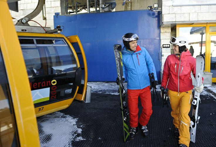 Skiing pleasures @Meran2000 | © Laurin Moser