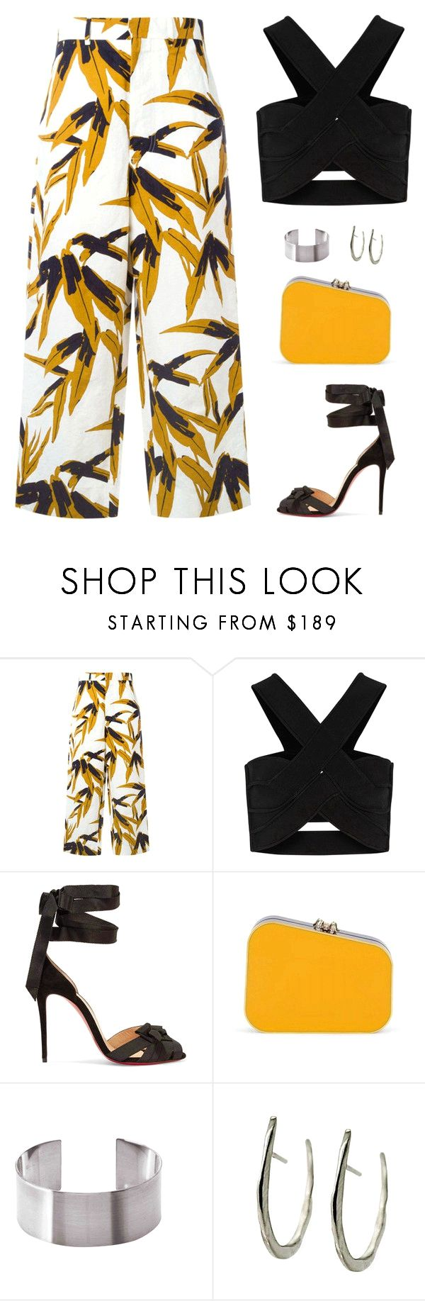 Sin título #4720 by mdmsb on Polyvore featuring moda, Marni, Issa, Christian Louboutin, Charlotte Olympia y Maria Dorai Raj on the lookout for limited offer,no duty and free shipping.#shoes #womenstyle #heels #womenheels #womenshoes  #fashionheels #redheels #louboutin #louboutinheels #christanlouboutinshoes #louboutinworld