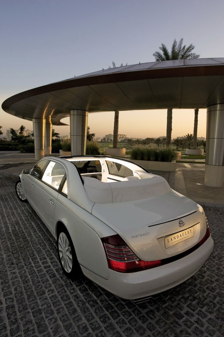 Maybach.  This is how Luxury looks !