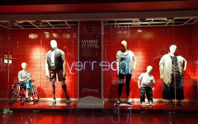 J-Crew Real Display mannequins