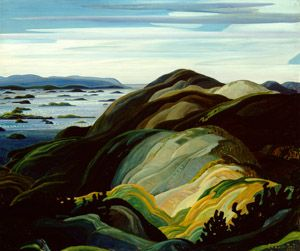 Franklin Carmichael, 1890-1945 Bay of Islands, 1931 Oil on canvas 101.6 x 122.0 cm McMichael Canadian Art Collection