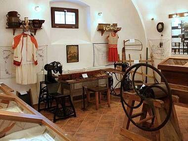 Muzeum řemesel v Bouzově.