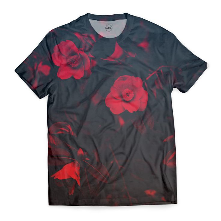 - T-Shirts start from £26  - Full-sublimation Cut & Sew printed T-Shirt  - 100% Polyester with super soft Cotton feel, machine washable  - 3-5 day UK delivery time  - Premium quality finish, hand sewn, no white marks under arms!  miPic | Print Unique Art & Fashion   Unique fashion item designed by miPic artist.