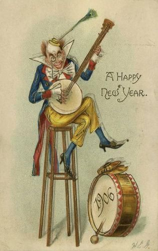 166 best vintage new years cards images on pinterest post cards vintage new year postcard m4hsunfo