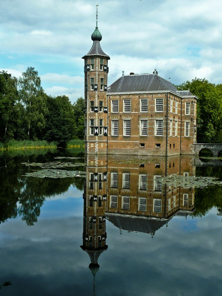 Kasteel Bouvigne Breda, Remember we used to skate here @Marlies Soltys when the moat froze over?