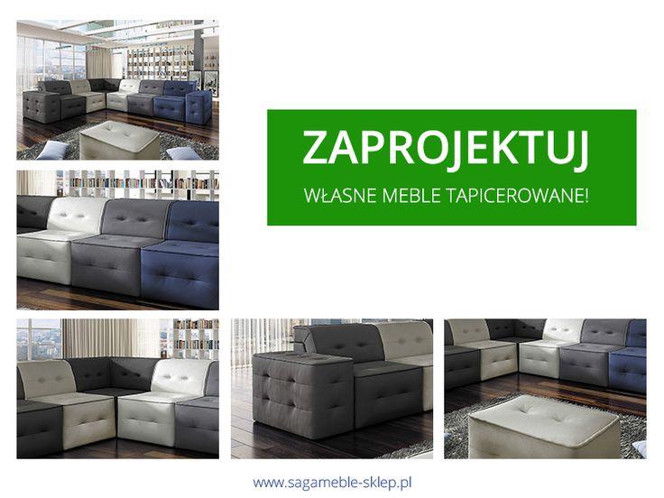 Chcielibyście sami zaprojektować narożnik lub sofę? Sprawdźcie kolekcję Orion!  http://sagameble-sklep.pl/697-tapicerowane-meble-systemowe