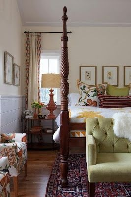 wood tall decorative bedframe