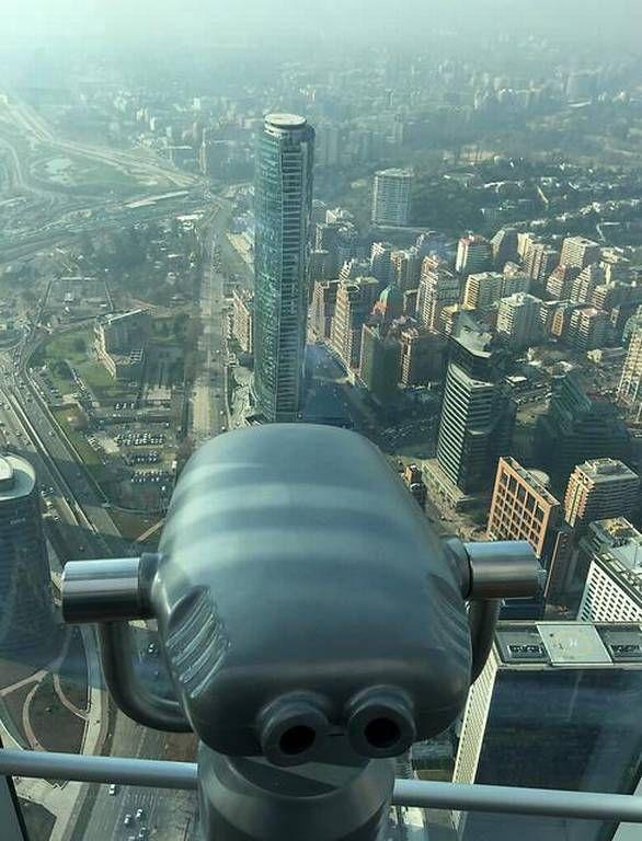 Sky Costanera: Así se ve Santiago desde el mirador más alto del país - Nacional - 24horas