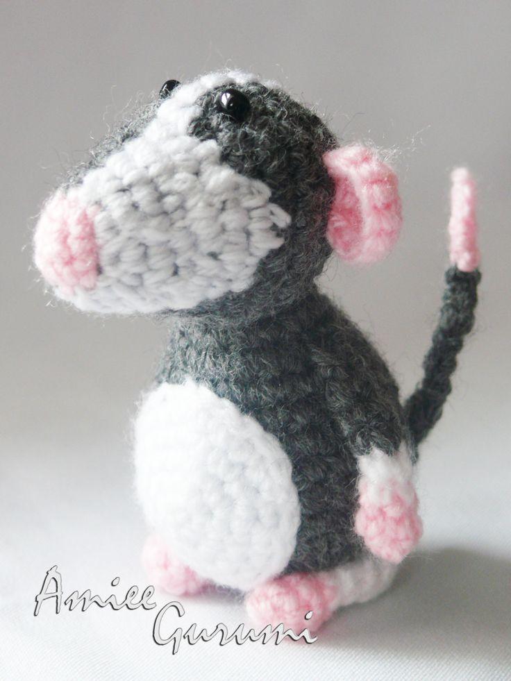Egérke / Crochet Rat