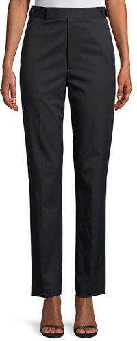 Helmut Lang Straight-Leg Wool Pants