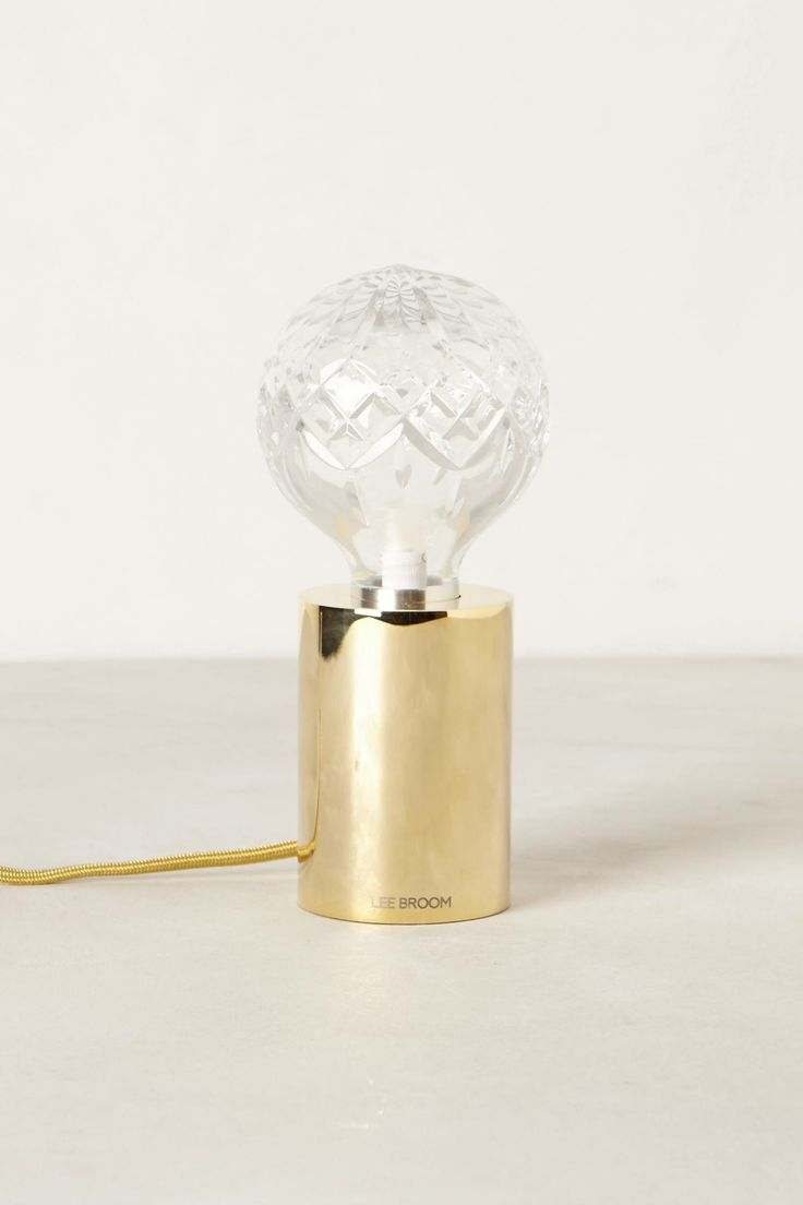 Crystal Table Lamp - anthropologie.com